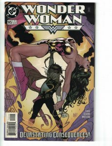 Wonder Woman (2nd Series) #145 VG martian manhunter - devastation DC 1999