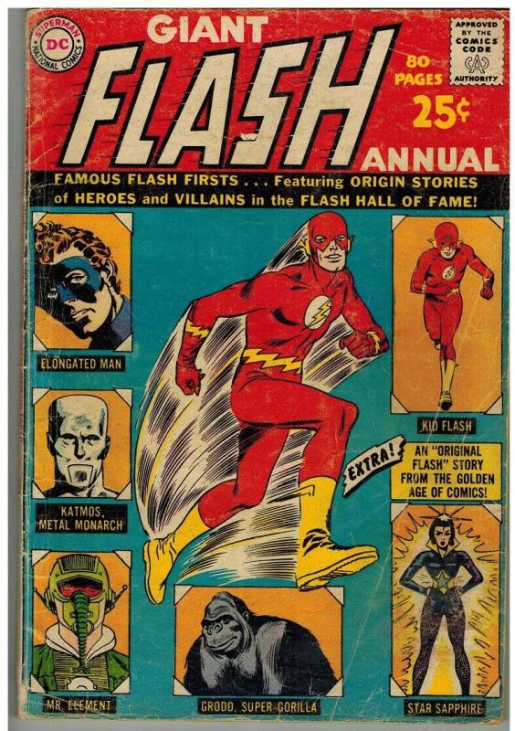 FLASH ANN 1 FR-G  Oct.-Dec.1963