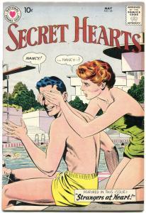 SECRET HEARTS #55 1959-DC ROMANCE FN+