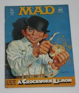 Mad Magazine #159 A Crockwork Lemon June 1973 EC Publications VG/FN