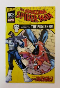 Wizard Ace Edition Amazing Spider-man #129 Marvel 2002 Gloss Overlay Comic NM