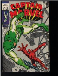 Captain Marvel #13 (Marvel, 1969)
