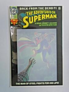 Adventures of Superman #500, 8.5/VF+ (1993)