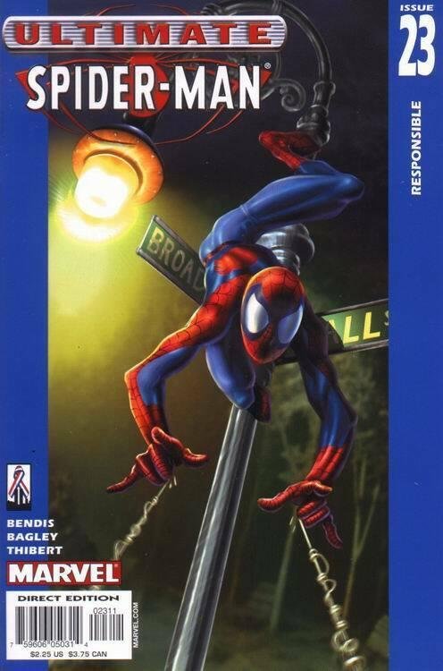 ULTIMATE SPIDER-MAN (2000 MARVEL) #23 NM- A19519