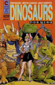 Dinosaurs For Hire (Eternity) #3 VF; Eternity   save on shipping - details insid