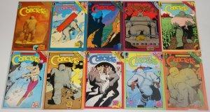 Concrete #1-10 FN/VF complete series - dark horse comics - paul chadwick set lot