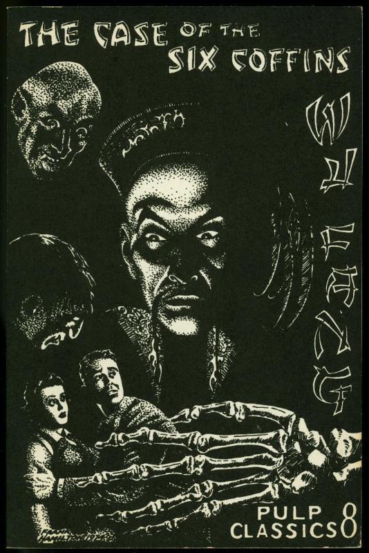 Pulp Classics #8 1975- Wu Fang Case of Six Coffins reprint 8/35 pulp fanzine VF