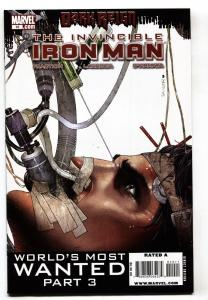 Invincible Iron Man #10 2009 1st cameo appearance of Rescue (Pepper Potts)
