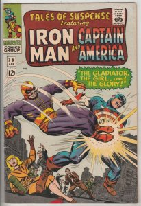 Tales of Suspense #76 (Apr-66) VF/NM High-Grade Iron Man, Captain America, Bu...