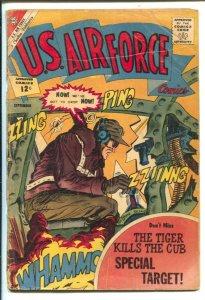 U.S. Air Force #23 1962- Charlton-explosive cover-Teddy Roosevelt-air war-G
