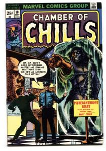 Chamber of Chills #10 1974- Marvel Comics- Horror NM-