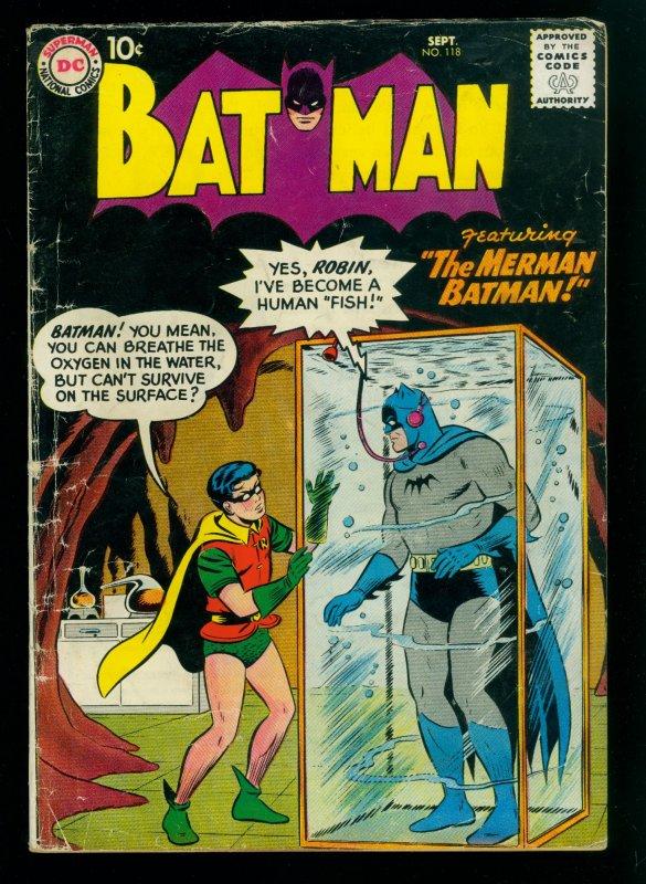 Batman #118 VG- 3.5