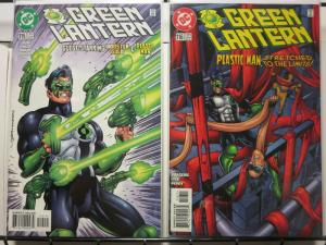 GREEN LANTERN (1990) 115-116 Booster Gold & Plastic Man