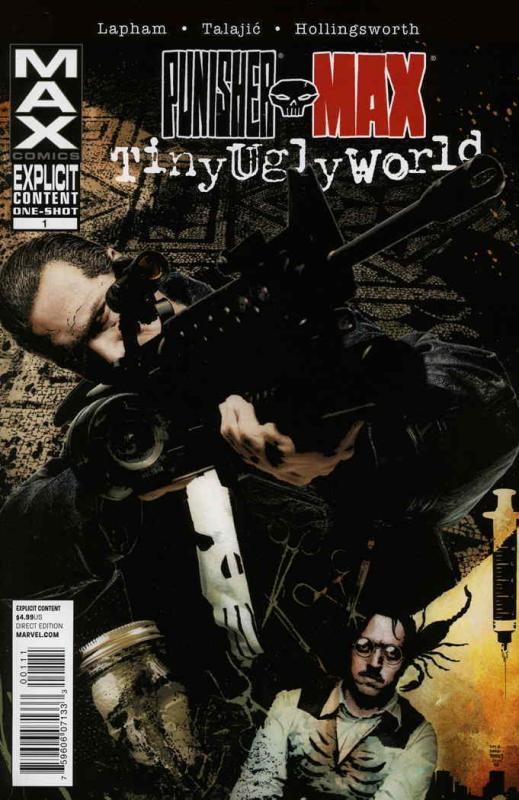 Punisher Max: Tiny Ugly World #1 VF/NM; Marvel | save on shipping - details insi