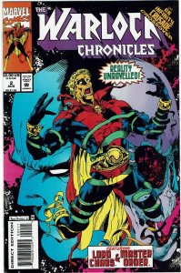 Warlock Chronicles #2 (1993) Jim Starlin Thanos VF+