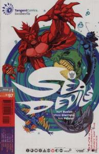 Tangent Comics Sea Devils #1, NM (Stock photo)