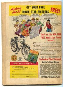 Modern Comics #75 1948- BLACKHAWK- Torchy restored G/VG