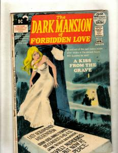 Lot of 7 Comics The Dark Mansion of Forbidden Love 4 Jonah Hex 26 +MORE J369