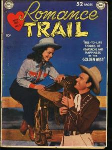 Romance Trail #3 1949- Golden Age DC Western -VG