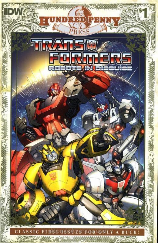 Transformers, The: Robots in Disguise #1 (3rd) VF/NM; IDW | save on shipping - d