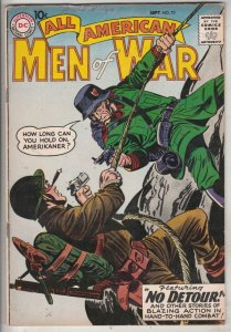 All-American Men of War #73 (Sep-59) VG/FN+ Mid-Grade Easy Co.