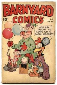 Barnyard Comics #18 1948- FRAZETTA- Golden Age G