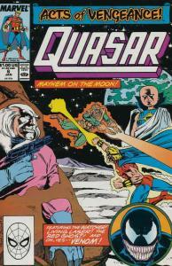 Quasar #6 VF/NM; Marvel   save on shipping - details inside
