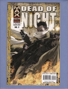 Dead of Night #2 VF Front/Back Cover Scans Marvel 2008