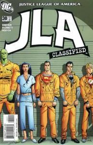JLA: Classified #30, NM- (Stock photo)
