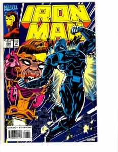 6 Marvel Comics Iron Man # 296 Manual 1 Warriors 22 & ANNUAL 3 Spirits V 5 6 RC2