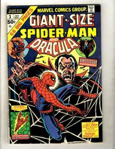 Lot Of 5 Giant Size Amazing Spider-Man Marvel Comic Books # 1 2 3 5 6 Goblin GK5