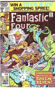 Fantastic Four #223 (Oct-80) VF/NM High-Grade Fantastic Four, Mr. Fantastic (...