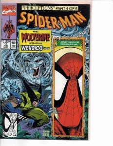 Marvel Comics Spider-Man #11 Todd McFarlane Story & Art Wendigo Wolverine