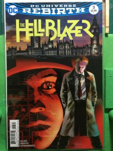 The Hellblazer #3 DC Universe Rebirth variant cover