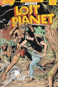 Lost Planet #5 VF/NM; Eclipse   save on shipping - details inside