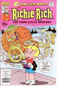 RICHIE RICH  (1960-1991) 222 VF-NM Jan. 1987 COMICS BOOK