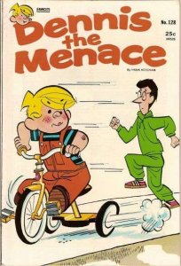 Dennis the Menace (1953 series) #128, Fine- (Stock photo)