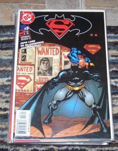 Superman  Batman #1, 3,4,16,17,18,57,58, + secret origin #1   LOEB MCGUINNESS