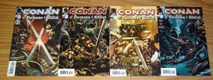Conan and the Demons of Khitai #1-4 VF/NM complete series - uncensored ad for 24
