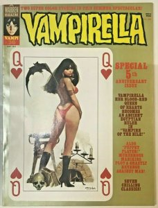 VAMPIRELLA#36 VF/NM 1974 WARREN BRONZE AGE MAGAZINE