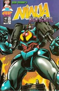 Ninja High School #48 VF/NM; Malibu | save on shipping - details inside