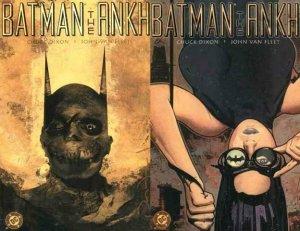 BATMAN THE ANKH (2002) 1-2 Dixon & Van Fleet  COMPLETE!