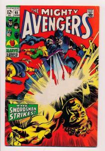 Marvel Comics The Mighty Avengers #65 - 1969 ~ VG/FINE (SRU235)