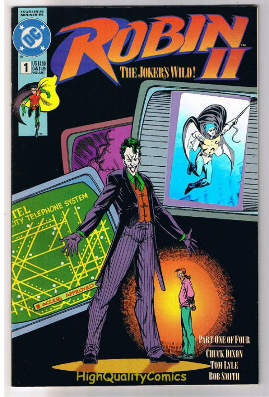 ROBIN II #1 2 3 4,  NM+, Joker, Batman, Arkham Asylum, Wild, more in store, 1-4