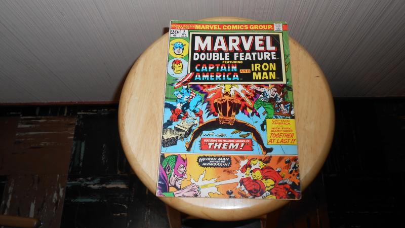 MARVEL DOUBLE FEATURE featuring CAPTAIN AMERICA AND IRON MAN # 2 (FEB1973