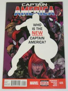 Captain America (7th Series) #25 VF; Sam Wilson - Falcon - Marvel - 2014