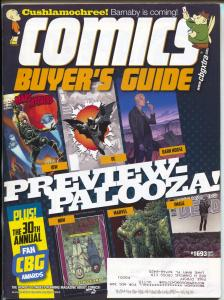 Comics Buyer's Guide #1693 2012-Krause-Batman-Walking Dead-Buy & sell ads-FN