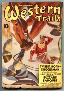 Western Trails Pulp September 1939- Twister Horn Triggerman