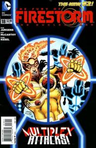 Fury of the Firestorm: The Nuclear Men #18 FN; DC | save on shipping - details i