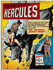 HERCULES (1967-1968 CH) 8 VG-F Dec. 1968  (MAGAZINE LO